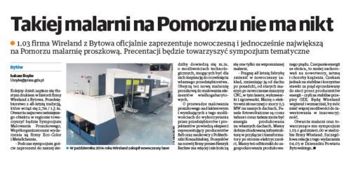 Wireland- nowa malarnia- 19.02.16r. Dziennika Bytowski