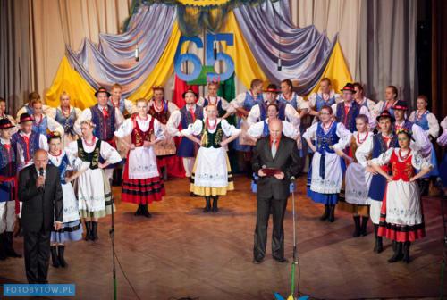 Jubileusz 65-lecia istnienia Kaszubskiego Zespołu Pieśni i Tańca Bytów (maj 2012)