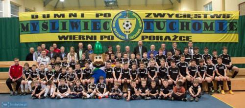 Wsparcie młodzieżowych drużyn piłkarskich klubu Myśliwiec Tuchomie - 2013/14