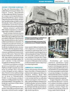 Gazeta Wyborcza, dodatek Ściana Wschodnia - 6.06.2018a